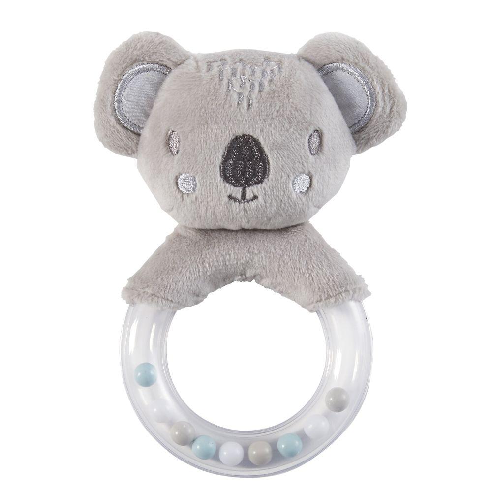 Hochet bébé koala gris