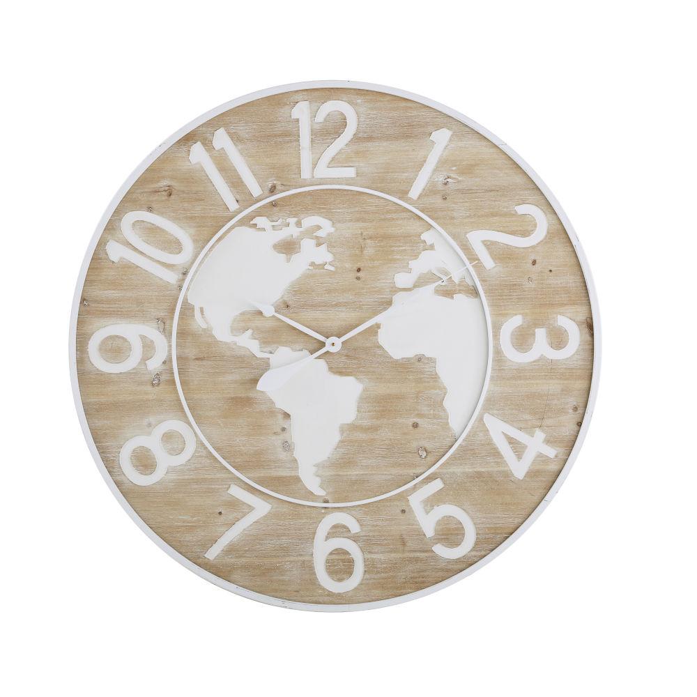 Horloge bicolore gravée D95
