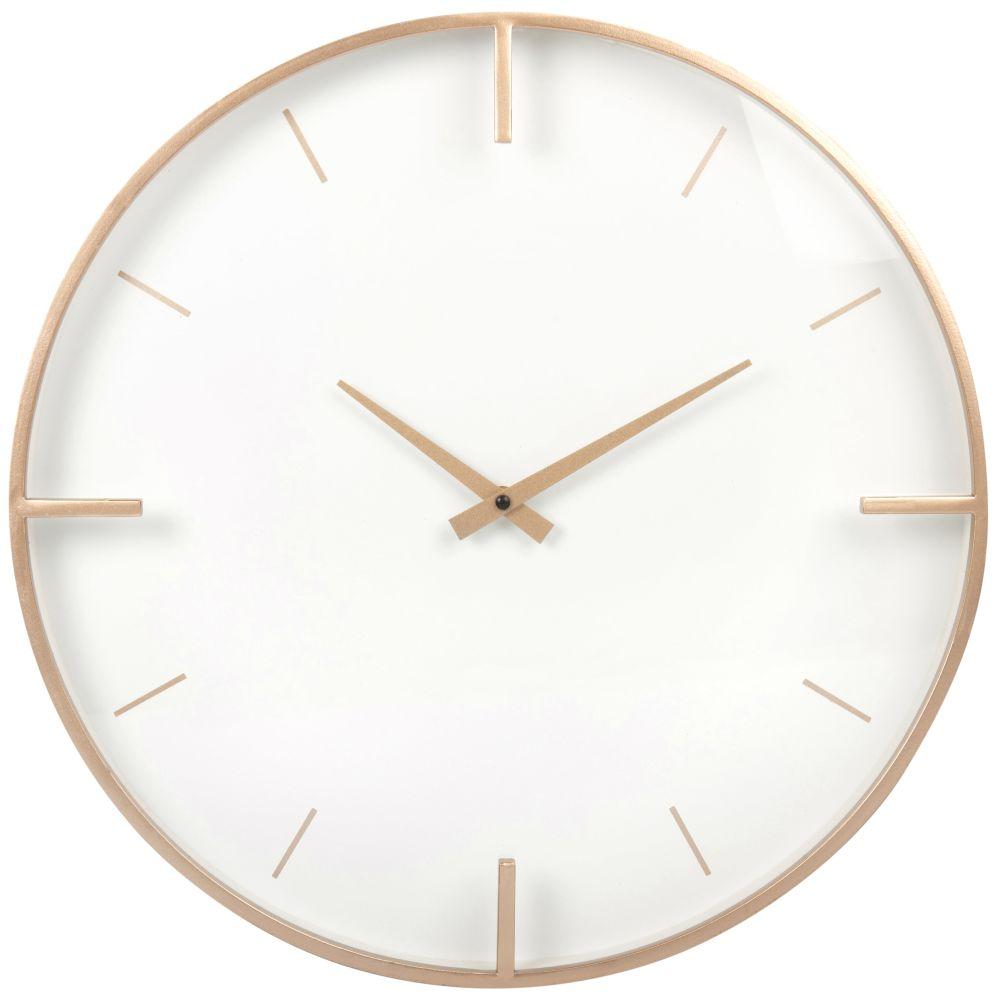 Horloge dorée et écrue D45