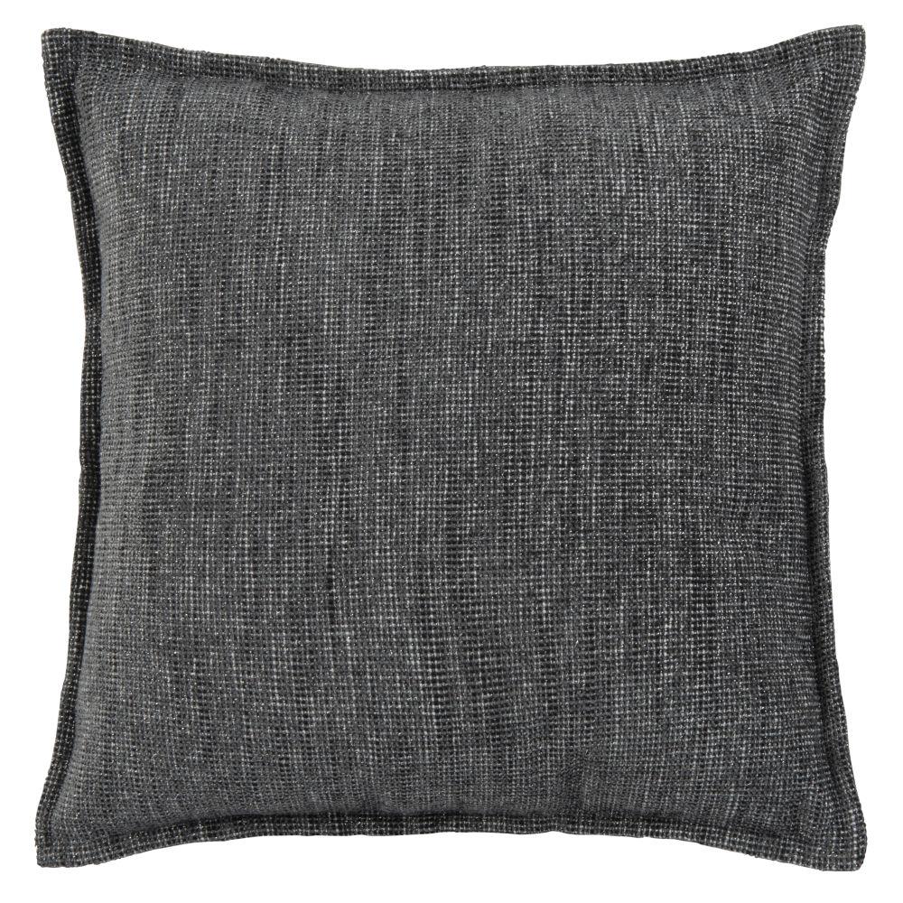Housse de coussin gris anthracite 40x40