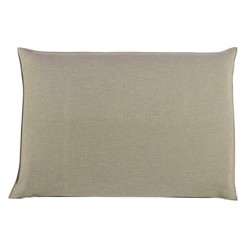 Housse de tête de lit 160 beige