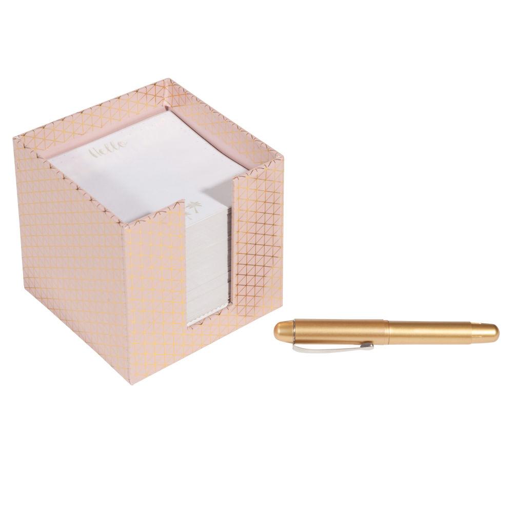 Kit bloc-notes et stylo