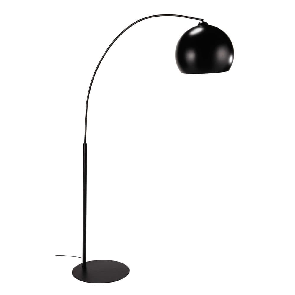 Lampadaire en métal noir H 190 cm