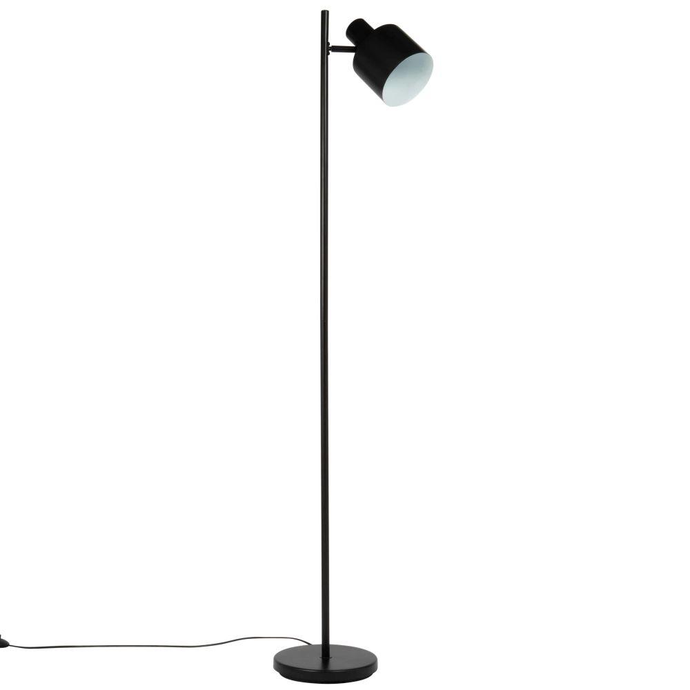 Lampadaire en métal noir H157