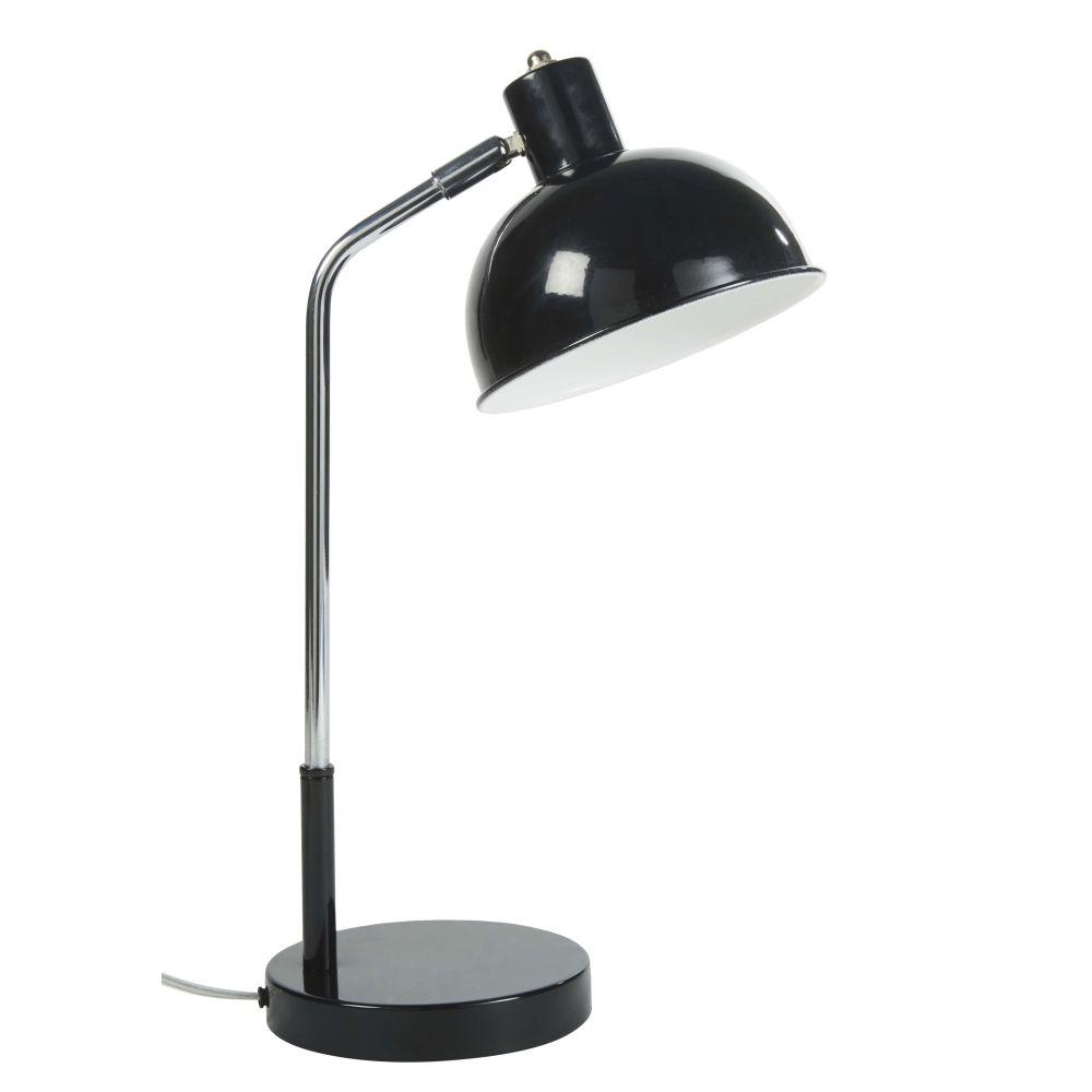 Lampe en métal noir H44