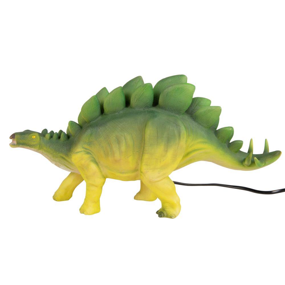 Lampe stégosaure verte