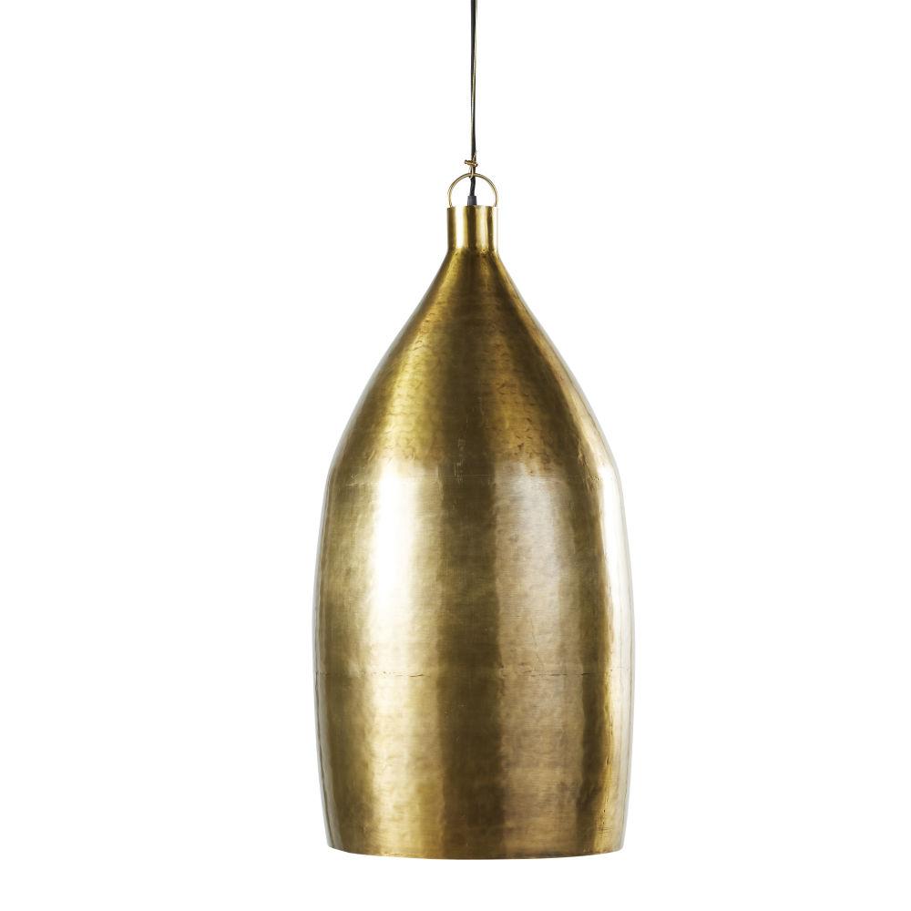 Messingkleurige Metalen Hanglamp D37