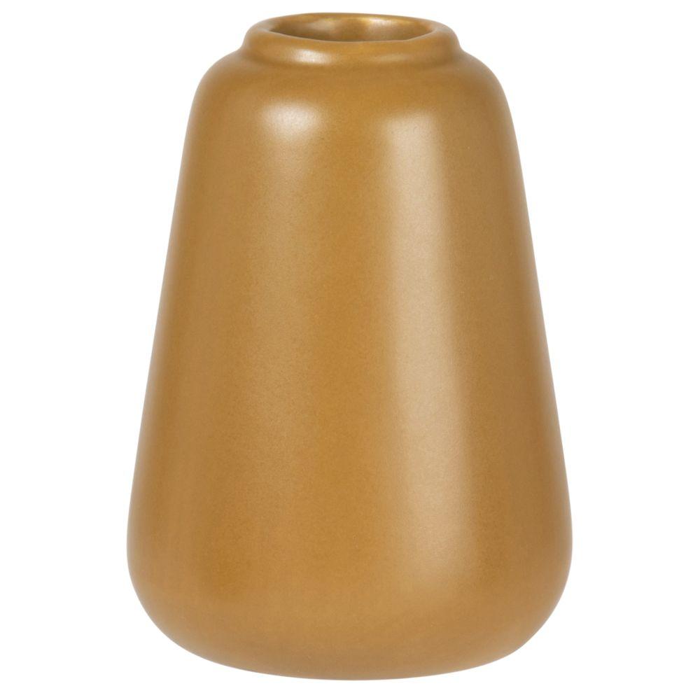 Mini vase en dolomite marron H10