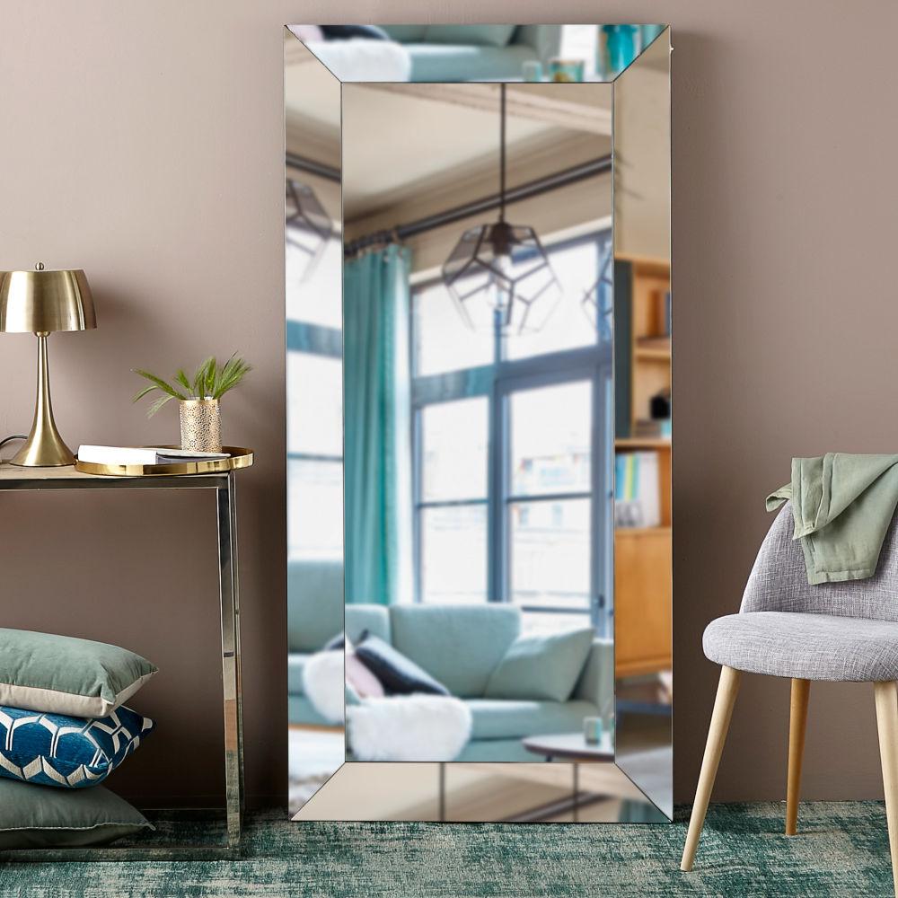 Miroir biseauté 80x165