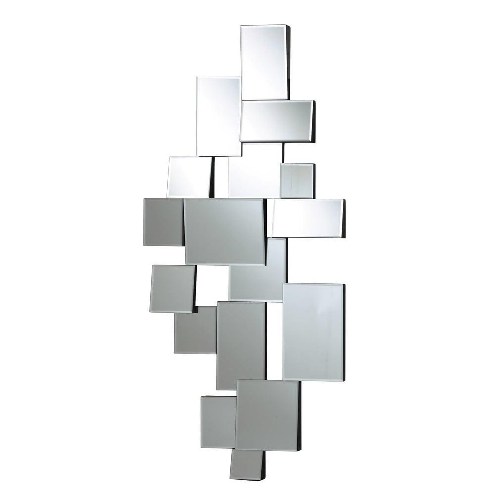 Miroir biseauté noir 70x140