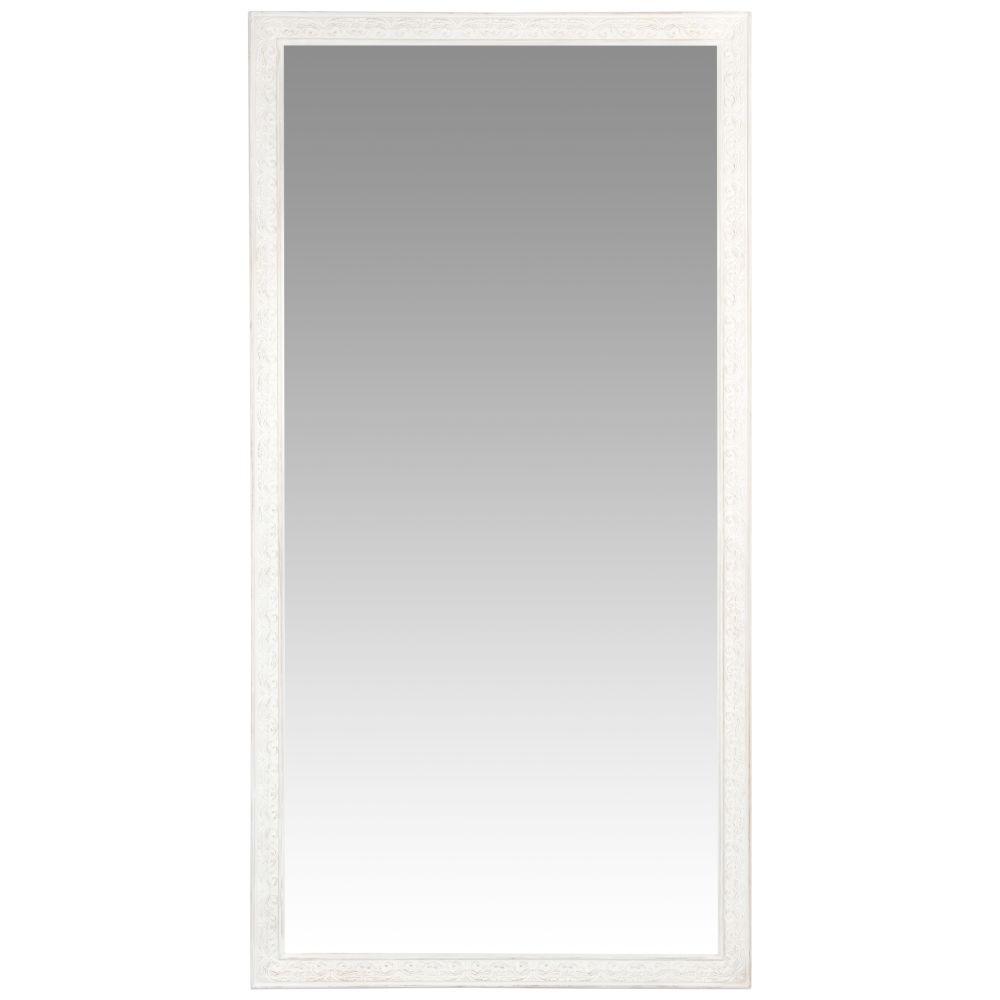 Miroir blanc grisé 90x180