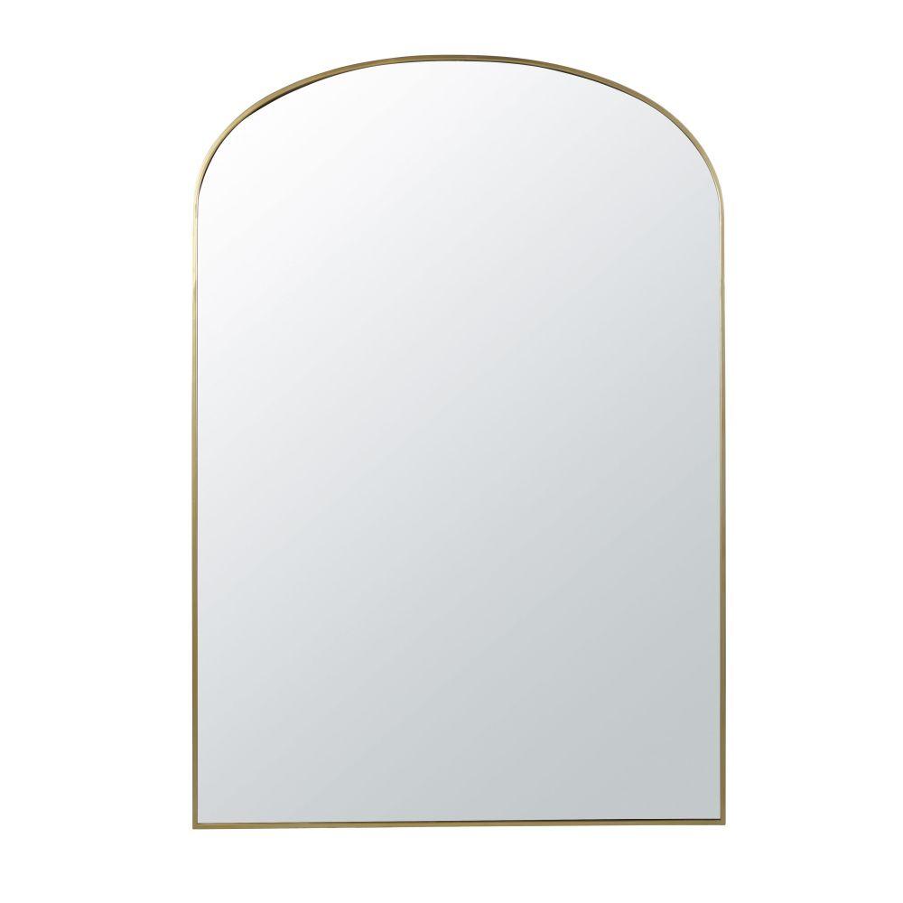 Miroir En Métal Doré 118x170