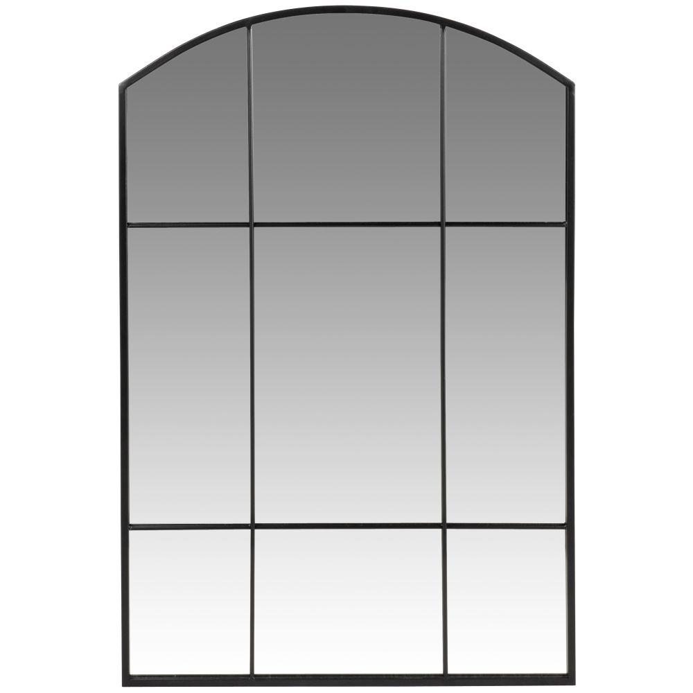 Miroir en métal noir 60x90