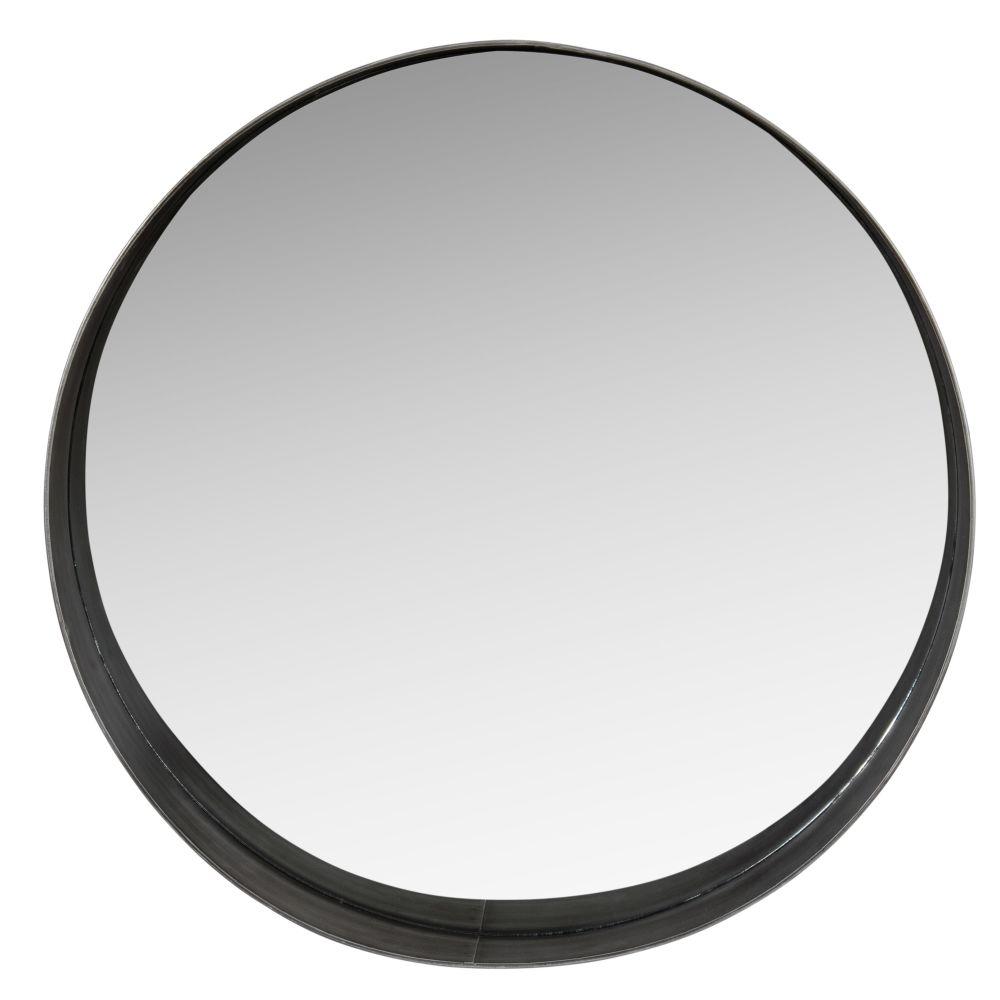 Miroir en métal noir D66