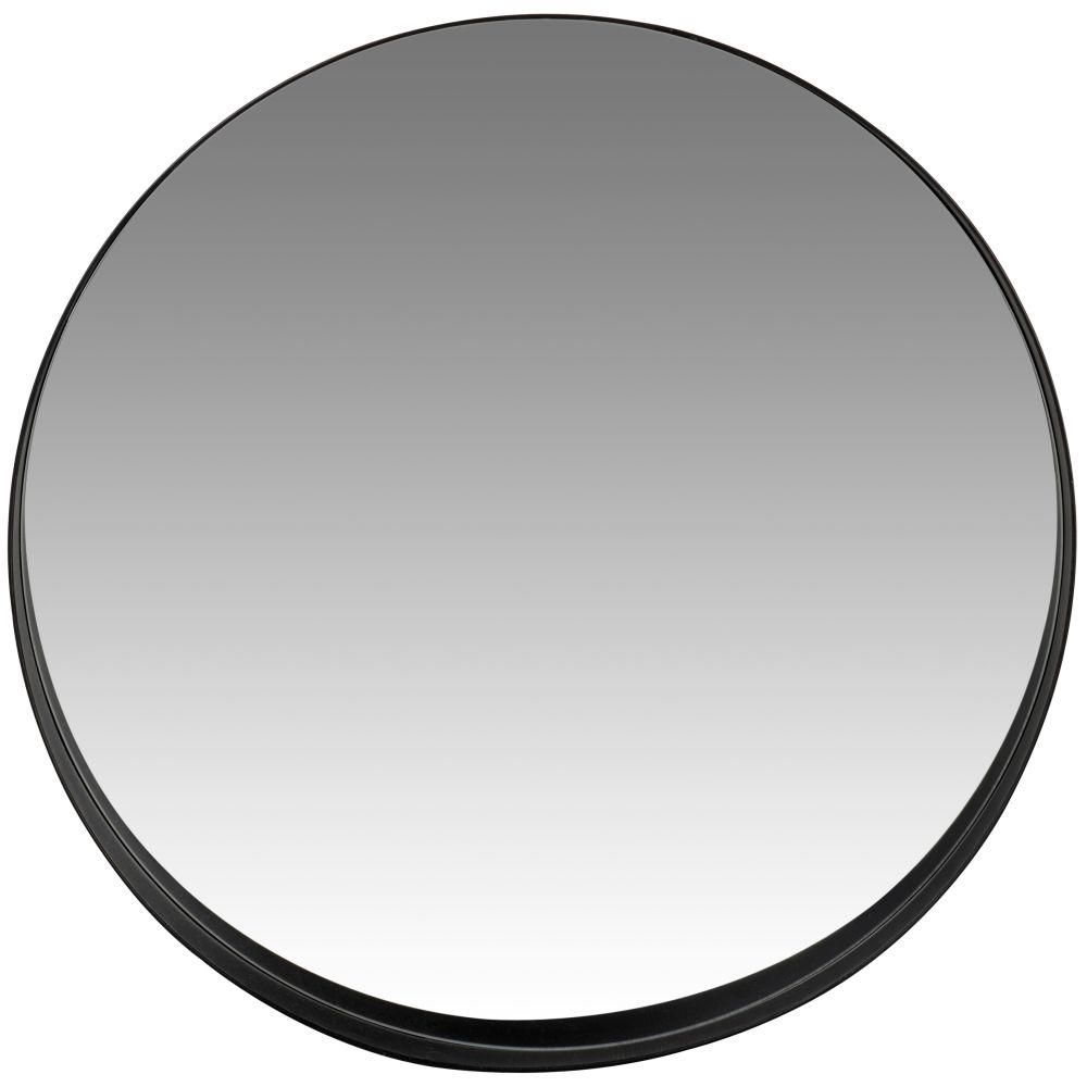Miroir en métal noir D76