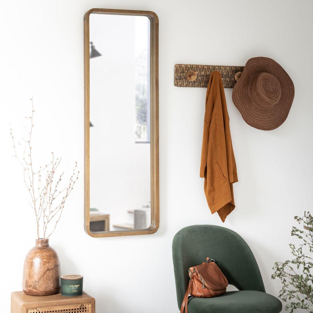 Miroir en paulownia 40x119