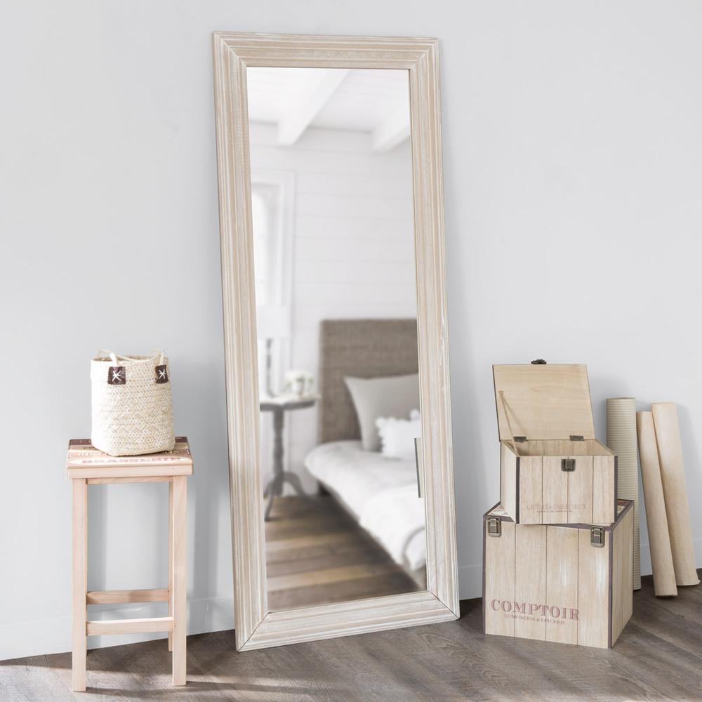 Miroir en paulownia 59x145