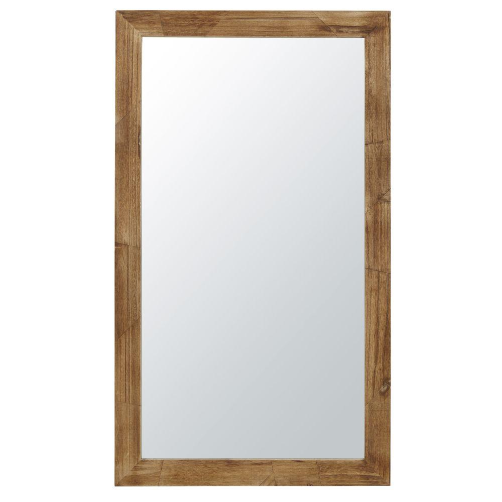 Miroir en paulownia clair 105x181