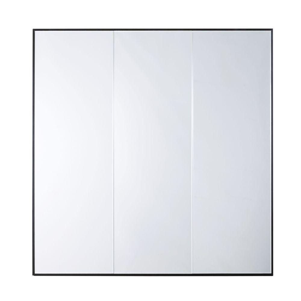 Miroir noir 120x120