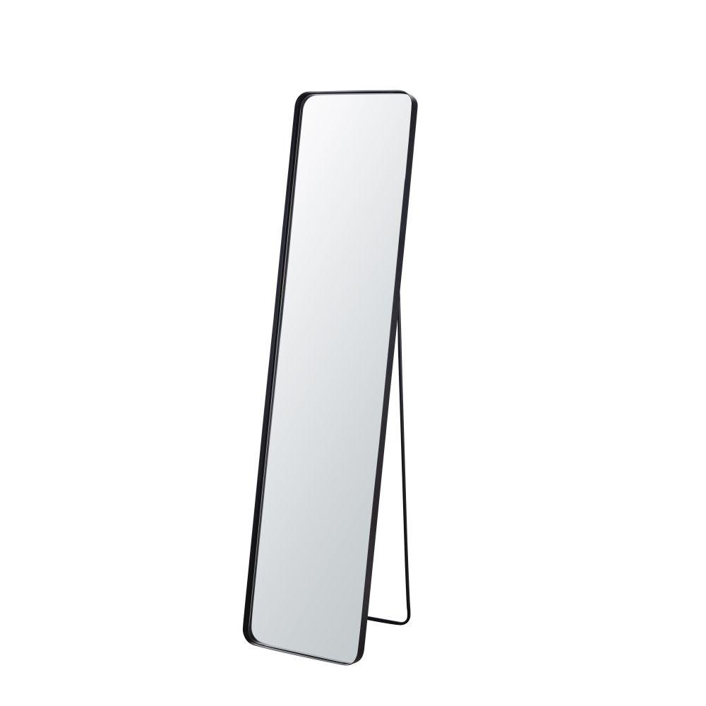 Miroir psyché en métal noir 41x170