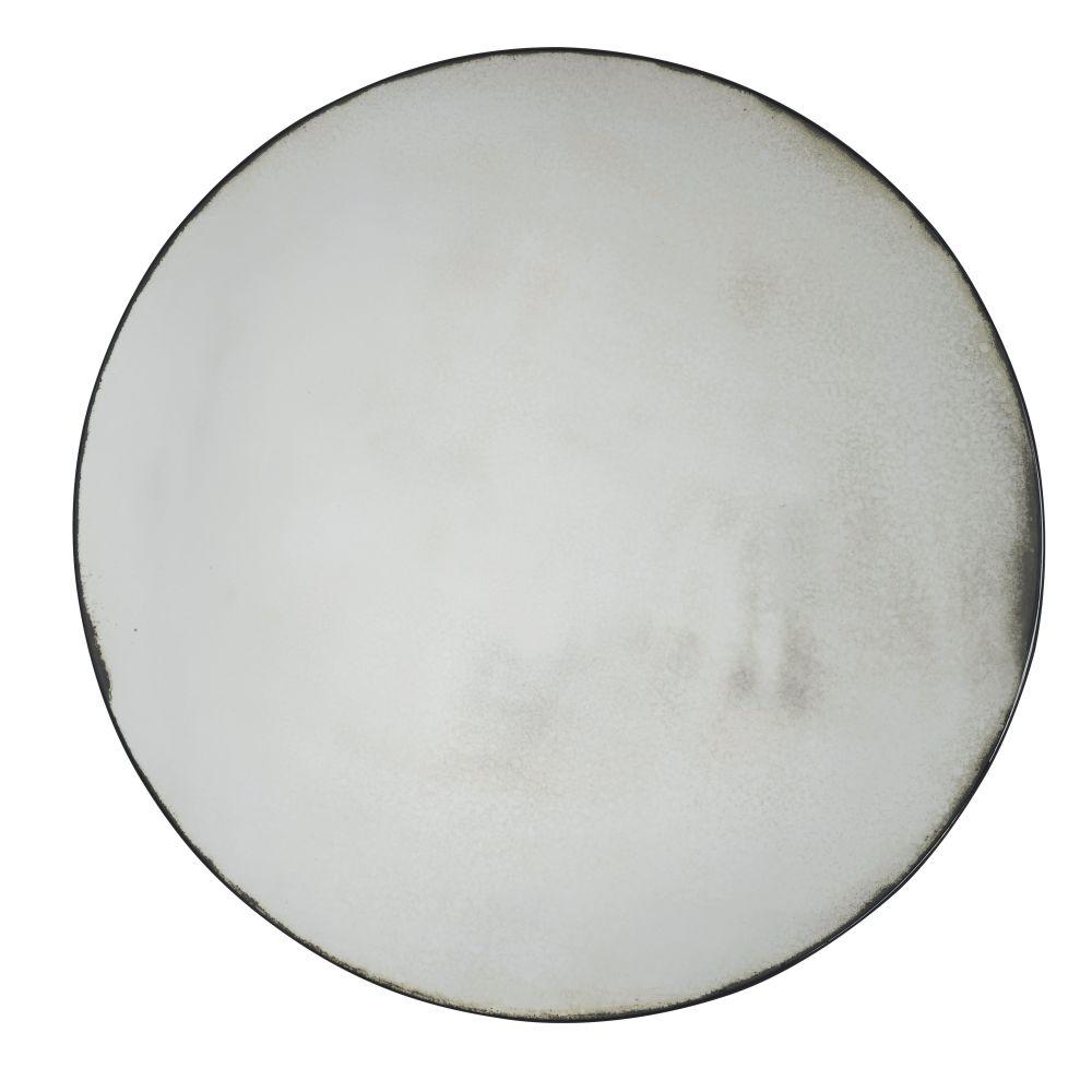 Miroir rond effet vieilli D149