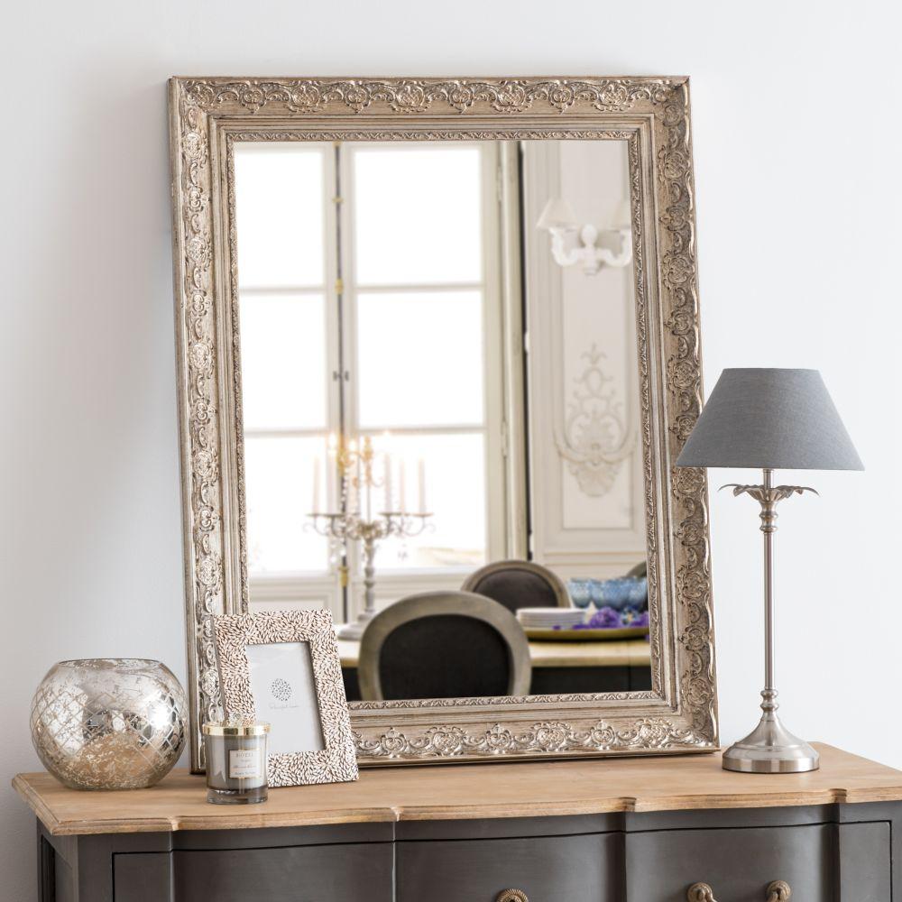 Miroir sculpté doré 70x90