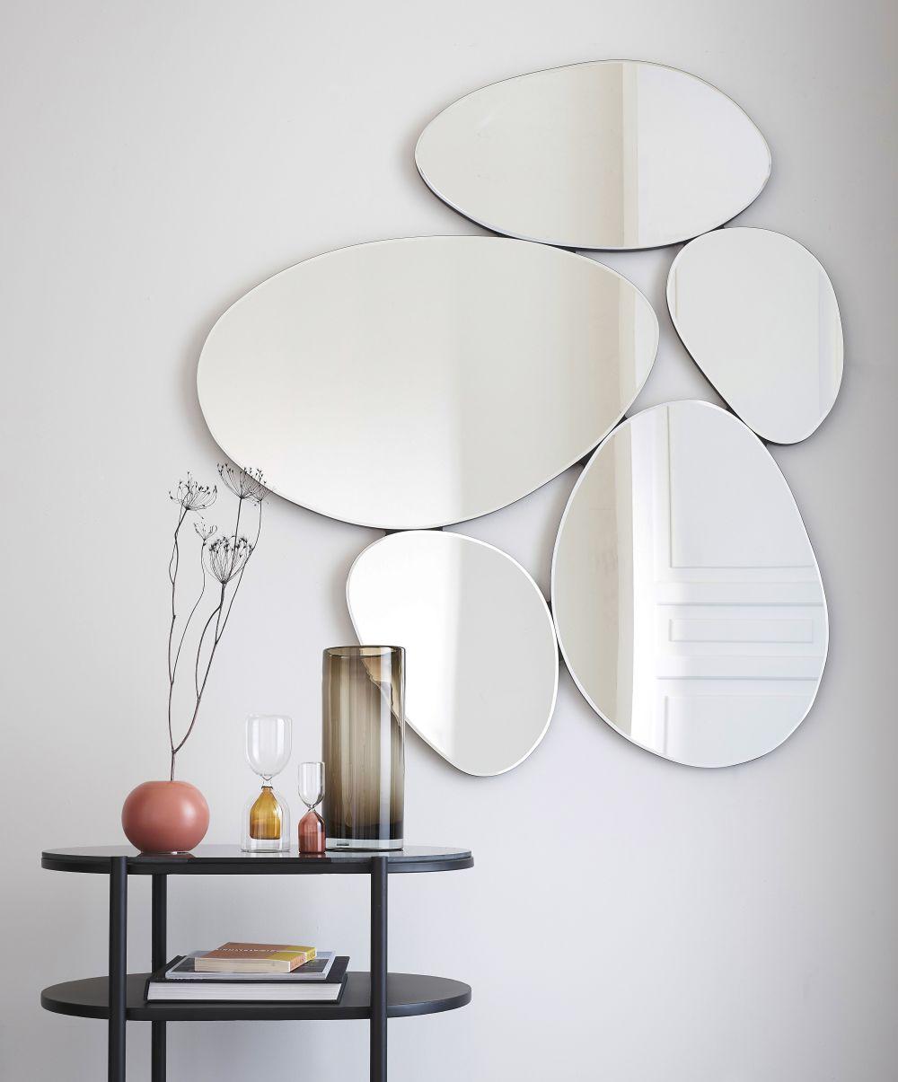 Miroirs ovoïdes 105x118