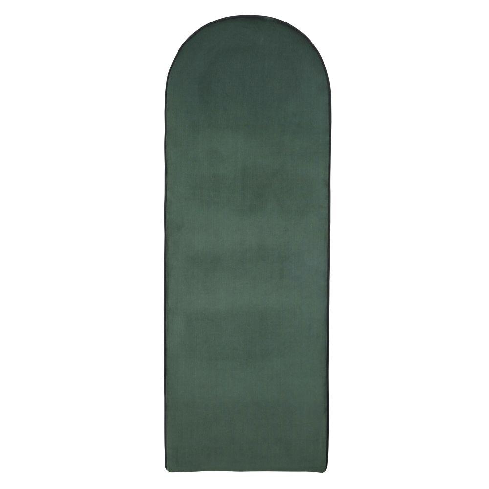 Moduleerbaar Hoofdeinde Van Groen Velours Voor Professioneel Gebruik 60 X 170 Cm
