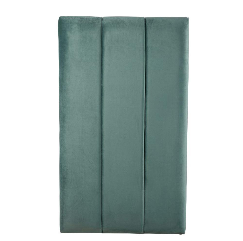 Moduleerbaar Hoofdeinde Van Groen Velours Voor Professioneel Gebruik 70 X 119 Cm