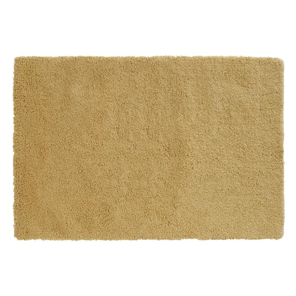 Mosterdgeel Getuft Tapijt 120x170