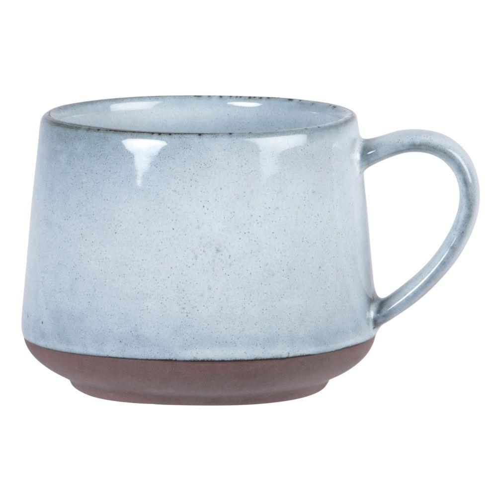 Mug en grès gris