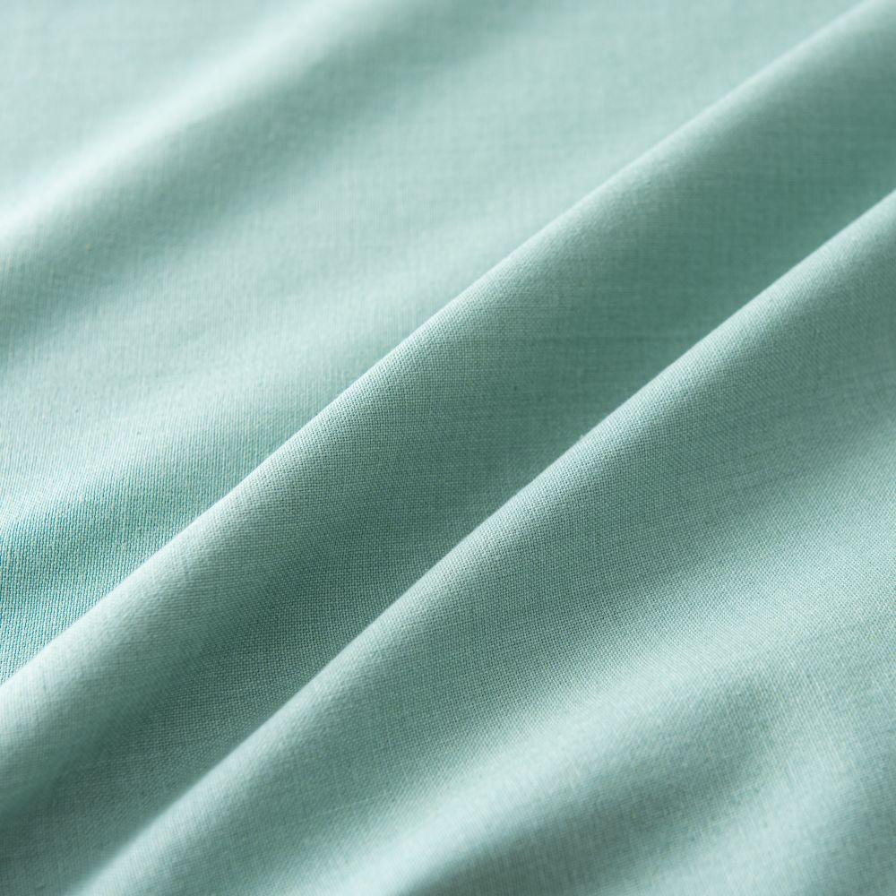 Nappe en coton bio vert 130x210