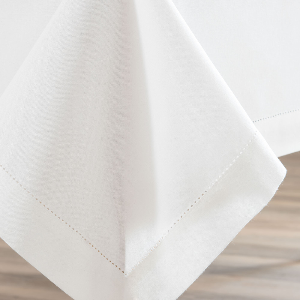 Nappe en coton écru 150 x 250 cm