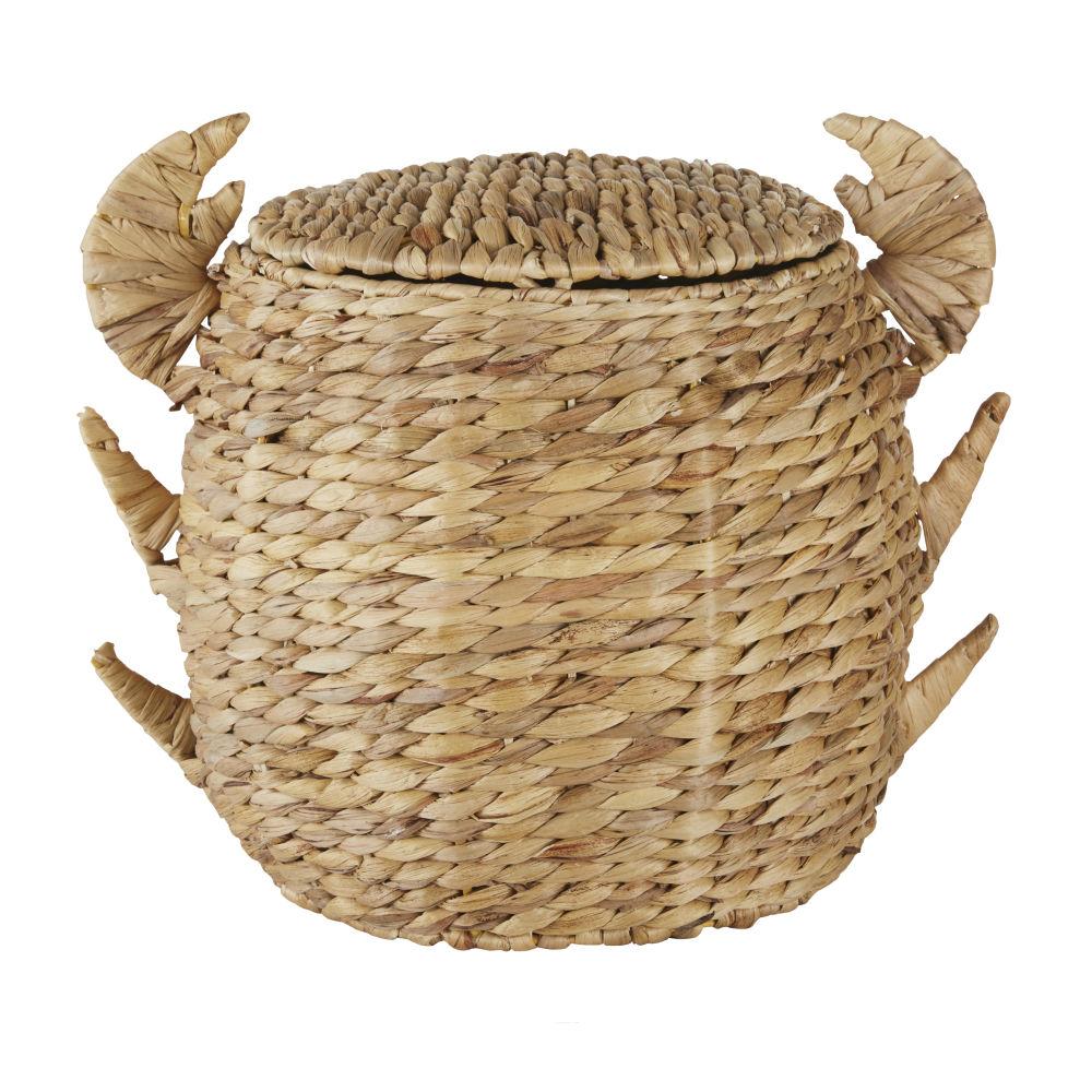 Panier enfant crabe en fibre végétale