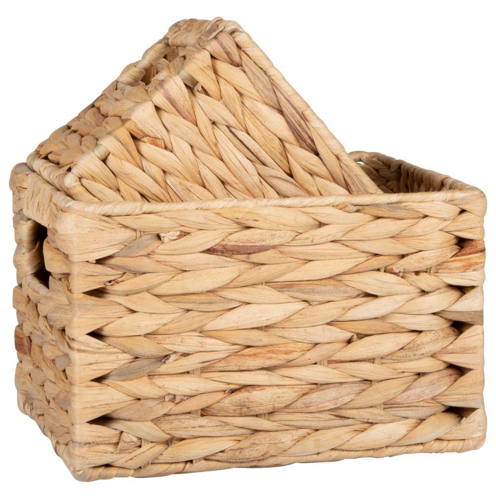 Paniers en fibre végétale (x2)