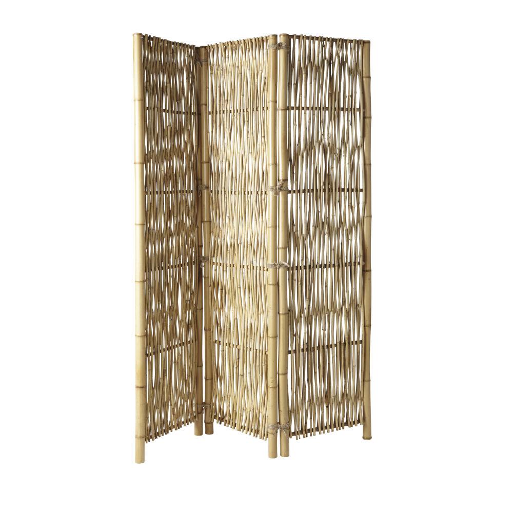 Paravent en bambou (photo)