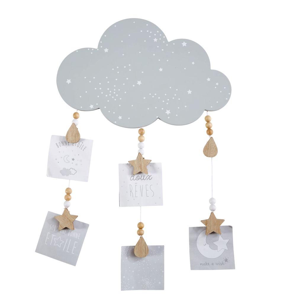 Pêle-mêle nuage gris 37x57