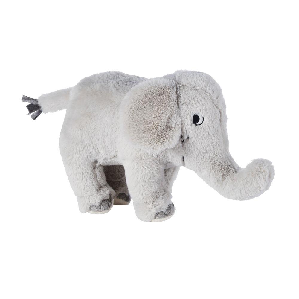 Peluche éléphant grise