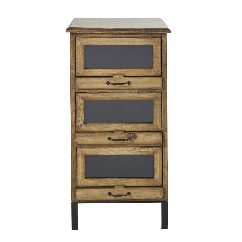 Petit meuble de rangement 3 tiroirs