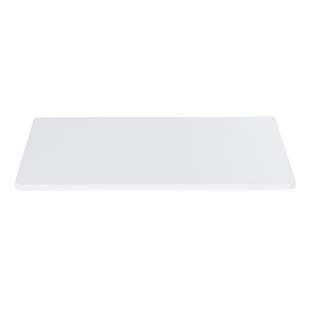 Plateau de bureau modulable blanc