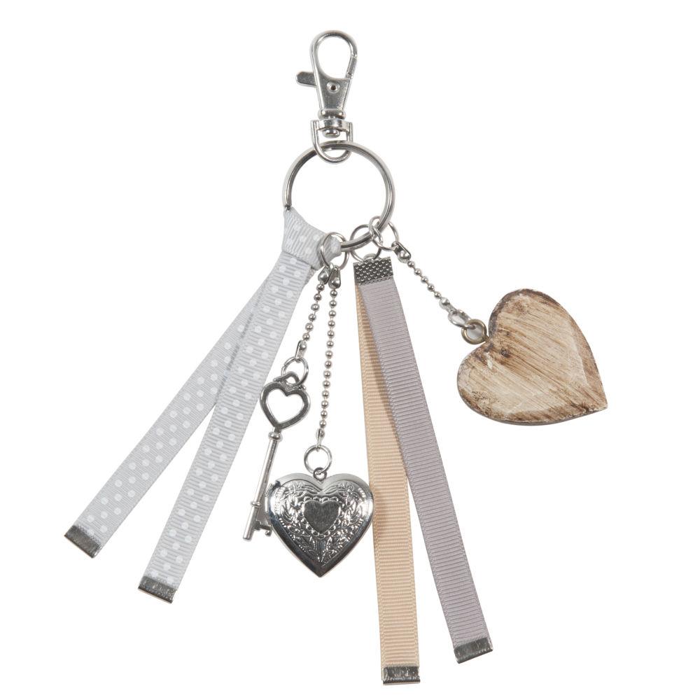 Porte-clés gris
