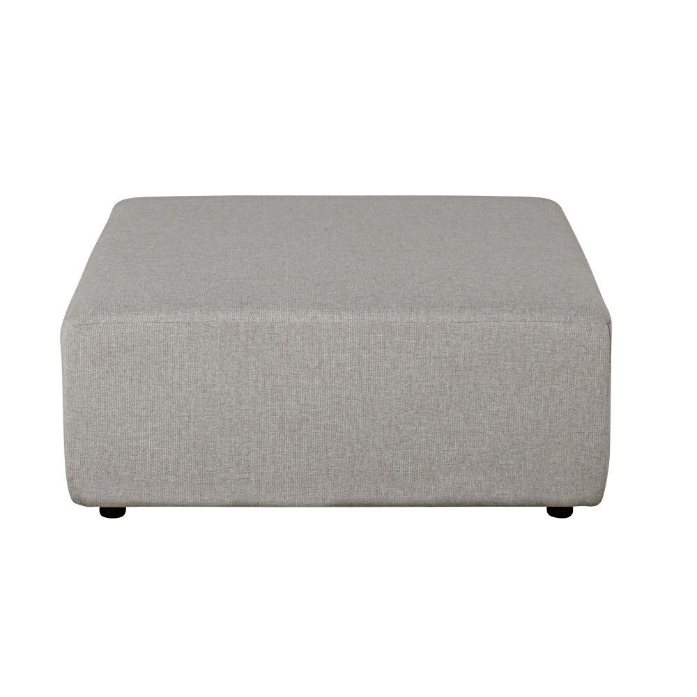Pouf pour canapé modulable gris