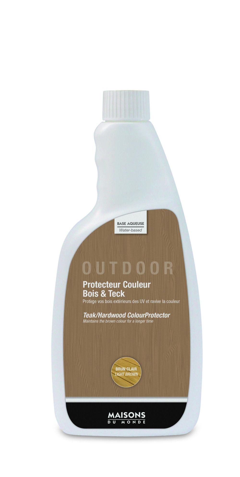 Protecteur couleur bois et teck pour mobilier d'extérieur