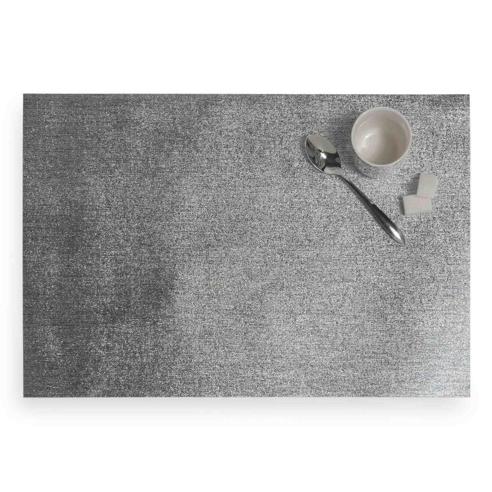 Set de table argent 30 x 45 cm