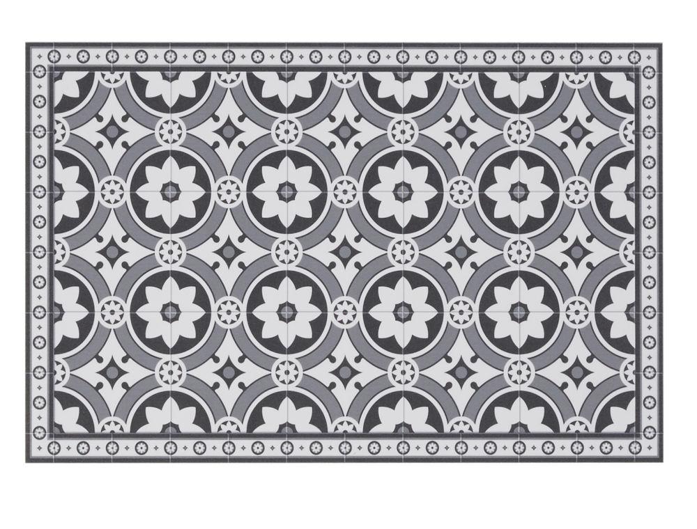 Set de table en vinyle motifs carreaux de ciment