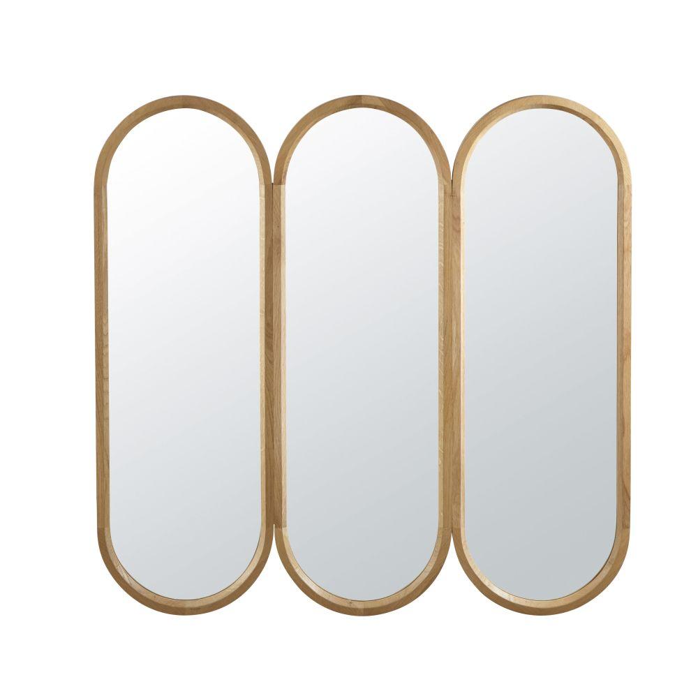 Spiegel Met Drieluik 87 X 85 Cm
