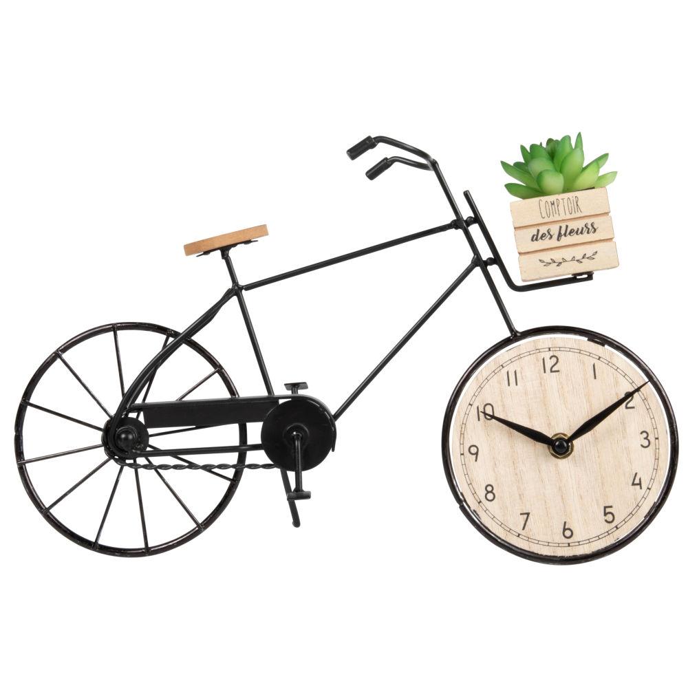Standuhr Fahrrad 36x21