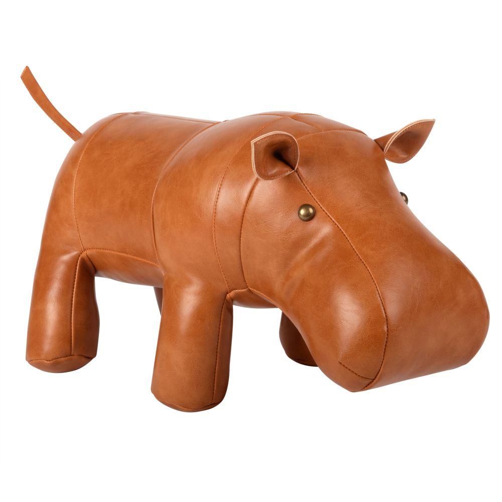 Statuette hippopotame L38