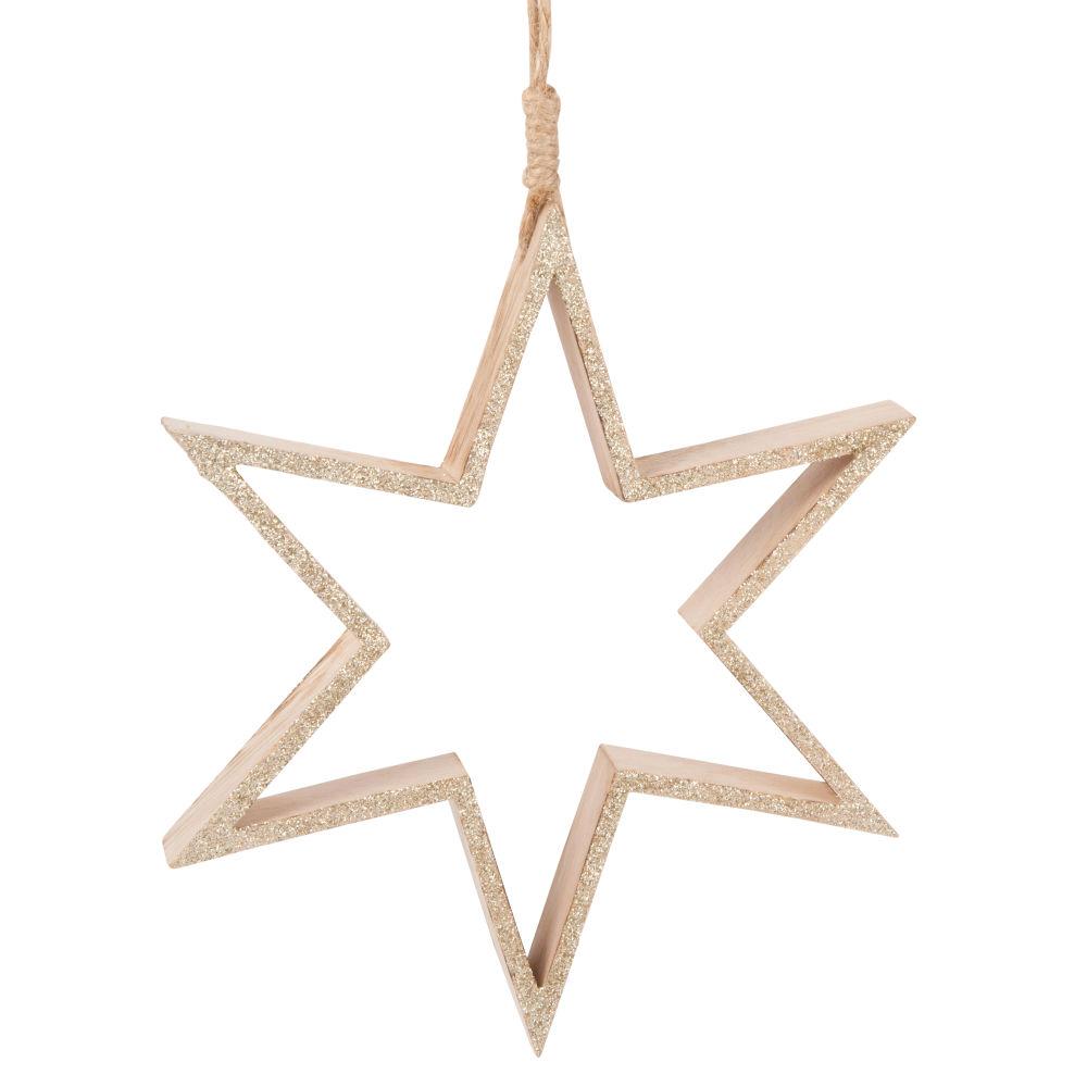Suspension de Noël étoile