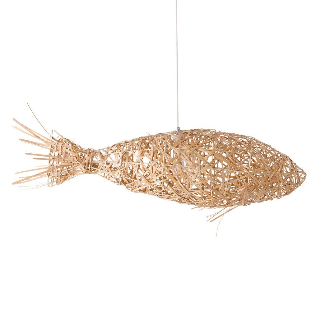 Suspension poisson en fibre végétale
